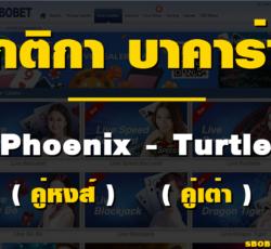Baccarat Phoenix Turtle pair