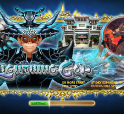 Lightning God Slot sbobet