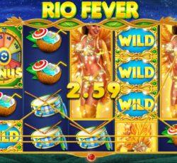 เกมส์สล็อต Rio Fever Sbobet Slot